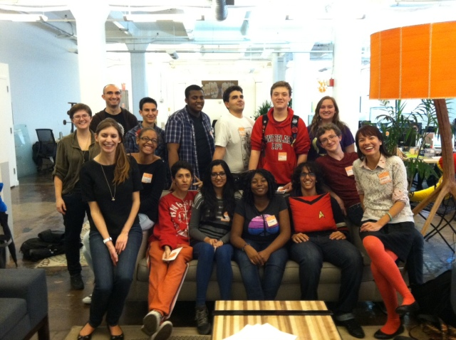 After school field trip to visit our teachers at their Etsy office!
